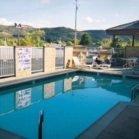 Lake Point Lodge ClearLake Oaks: Pool View