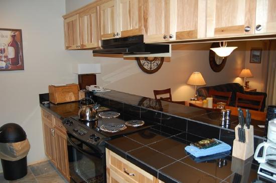 Meadow Ridge Resort: Sample kitchen photo for 2 bedroom