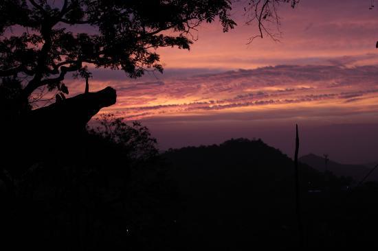 Casa Loma Minca: Sunset from Casa Loma, Minca
