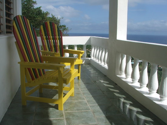 Caribbean Dawn: Green Room Balcony
