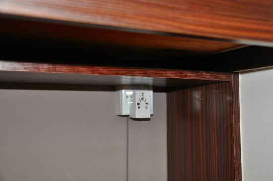 De Palma Waterfront Kuching: under the desk