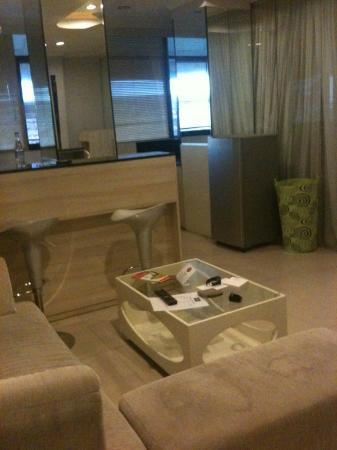 Asana Agung Putra Bali: Living Room