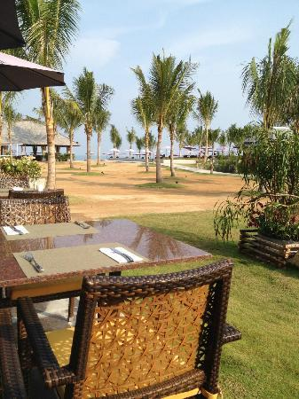Beyond Resort Khaolak: view from breakfast
