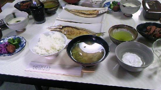 Yasashigaura Onsenkan: 昼食
