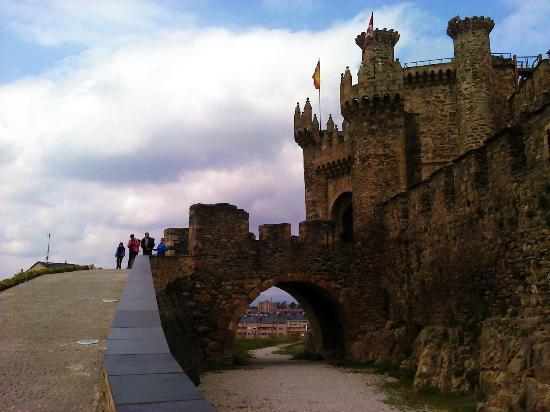 Ponferrada, Hiszpania: castillo