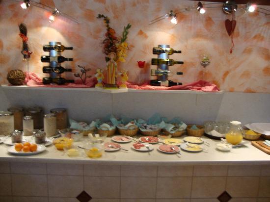 Hotel Menuwirt Klopeinersee: Frühstückbuffet