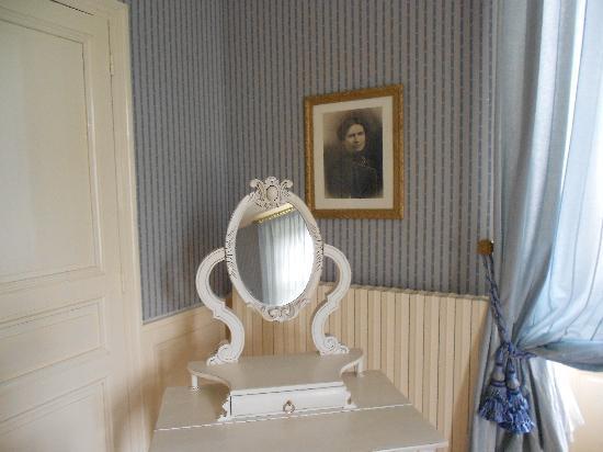 Chateau de Cop Choux : Décoration rafinée de la chambre