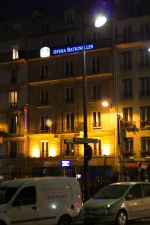 BEST WESTERN Opera Batignolles: From outside
