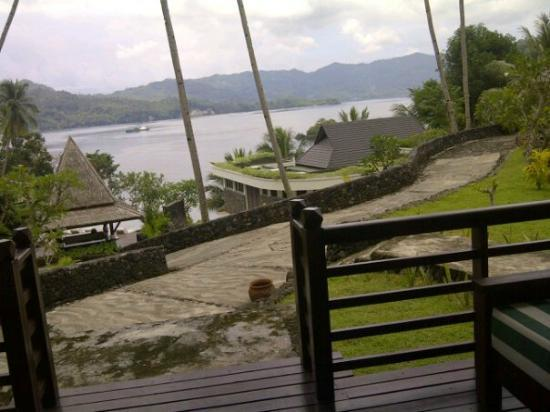 Dabirahe at Lembeh Hills Resort: view from our room