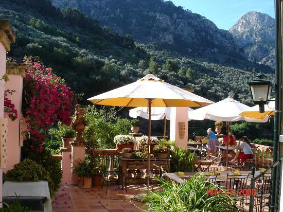 Ca'n Reus Hotel: Can Reus terrace