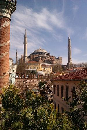 Zeynep Sultan Hotel: view from the terrace