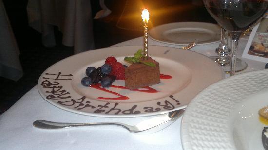 Miraculous Birthday Cake Picture Of Le Gavroche London Tripadvisor Birthday Cards Printable Trancafe Filternl