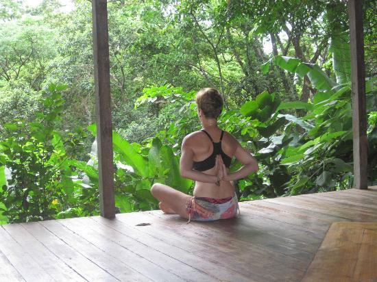 Manu Yoga Village: Yoga space