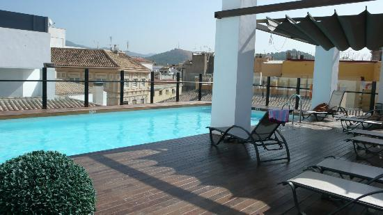 Dachterrasse Mit Pool Picture Of Vincci Seleccion Posada
