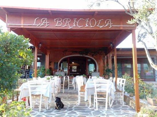 Cala Ginepro, Ιταλία: Ingresso