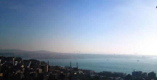Richmond Hotel Istanbul: Hotel Richmond, restaurant view
