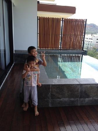 Cape Nidhra Hotel: ถูกใจเด็กๆมาก