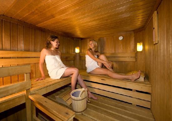 Wanderhotel Erika: Sauna
