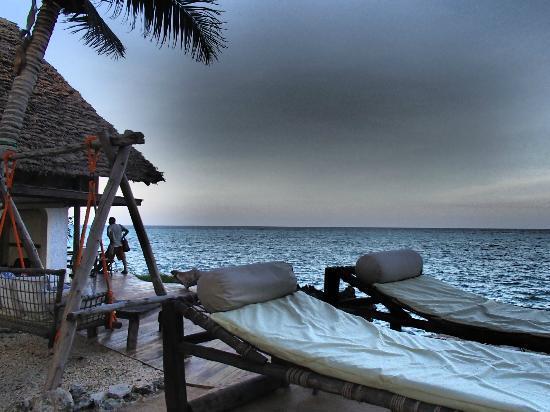 Matemwe Retreat, Zanzibar, Asilia Africa: Amazing Evening View from the Main Lodge
