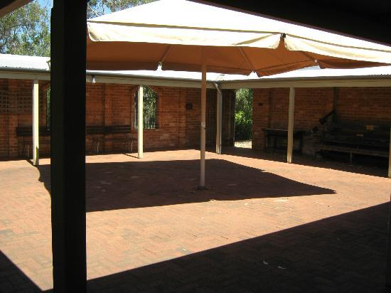 All Saints Anglican Church: Courtyard and toilets