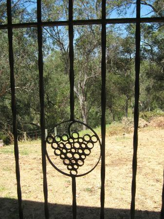 All Saints Anglican Church: Decorative iron works