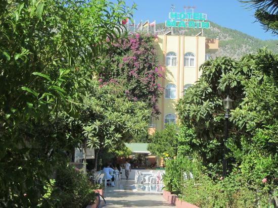 Marin Hotel: Главный корпус.