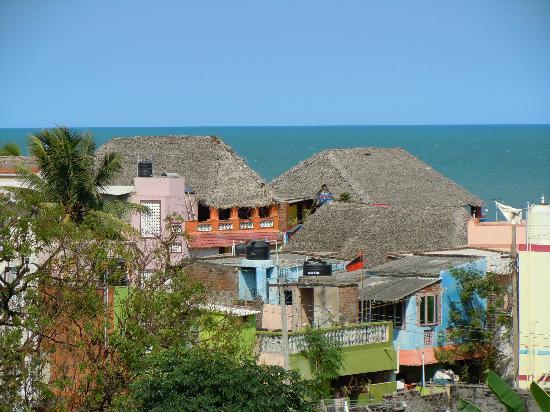 Siva Guest House: Vue du toit en terrasse