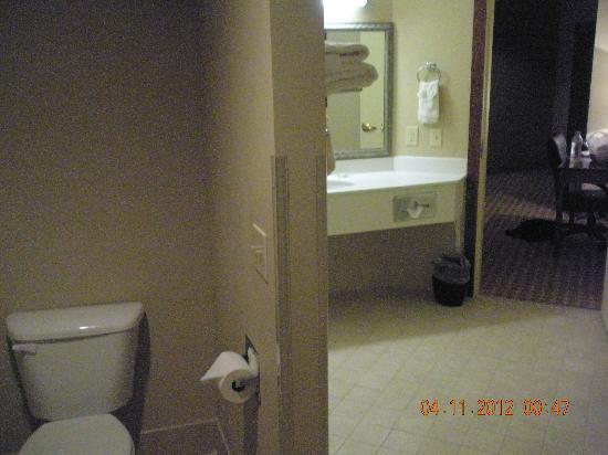 Country Inn & Suites by Radisson, Council Bluffs, IA: the bathroom was spacious