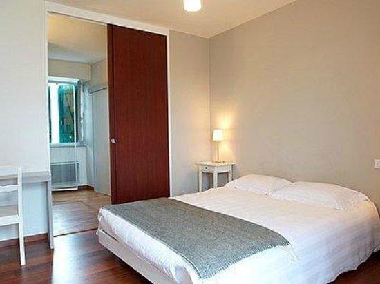 Hotel Aldaburua : Chambre lit double