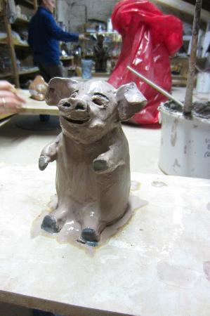 "Kinsale Pottery and Arts Centre: Kinsale Pottery & Arts Centre ""This little piggy is off to the kiln"""