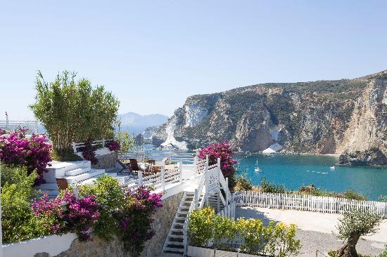 Terrazze Kibar - Picture of Grand Hotel Chiaia Di Luna, Ponza Island ...