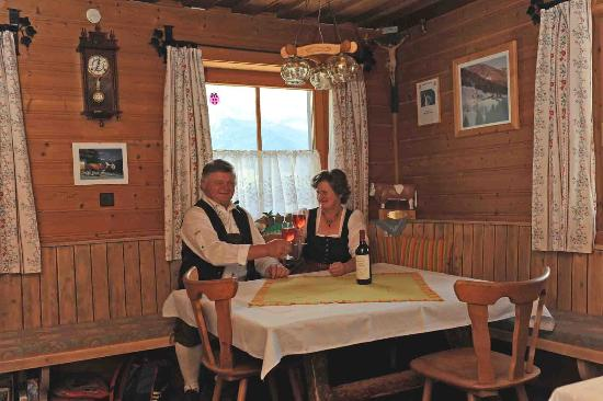 Mittersill, Autriche : Hochwimmhof, Bauernstube