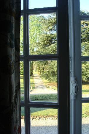 Chambres d'hotes Laguneaussan : Blick aus dem Zimmer