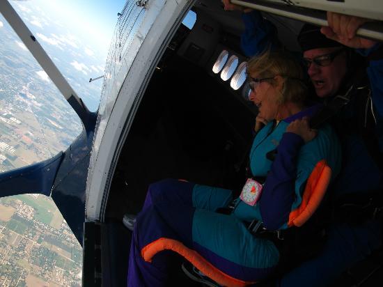 Skydive City: Ok, so I was really terrified here!