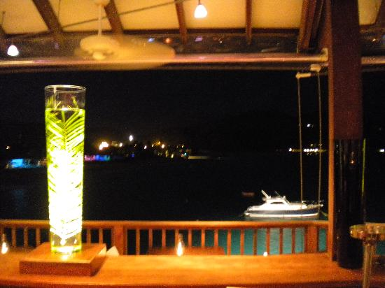 Eden Rock - St Barths: View at On the Rocks restaurant