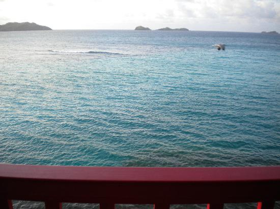 Eden Rock - St Barths: View from The Reef Classic Rock Suite