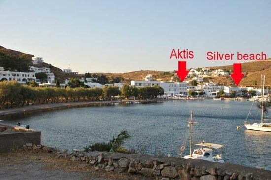 Silver Beach Hotel : grikos bay