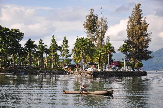 Samosir, Indonesia: Silintong Hotel