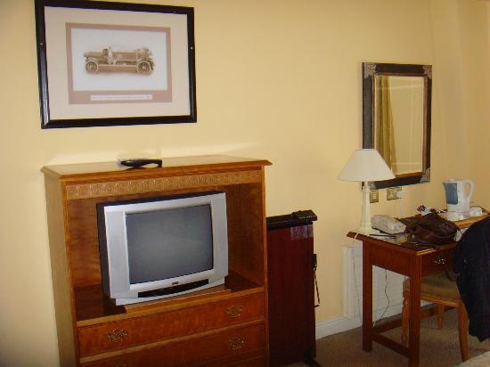 Grafton Capital Hotel: TELE