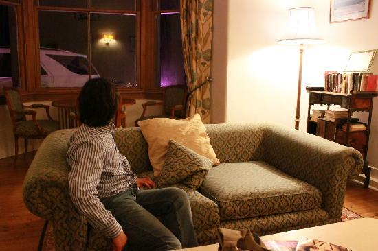 The Lovat Brasserie: Comfortable sofa