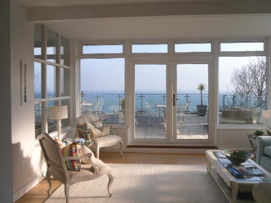 Carbis Bay, UK: The lounge at the Boskerris