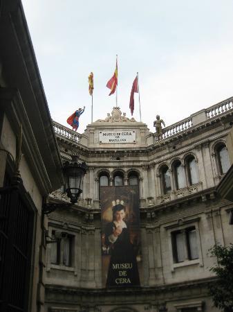 Barcelona Wax Museum: L'ingresso