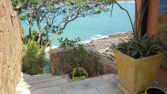 Cachoeira Inn: View from top