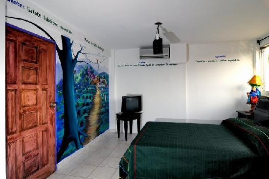 Hotel El Gueguense: room dedicated to the city of Jinotega