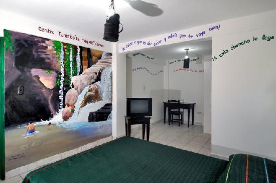 Hotel El Gueguense: room dedicated to the city of Carazo