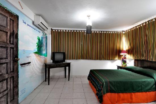 Hotel El Gueguense: room dedicated to the city of Corn Island