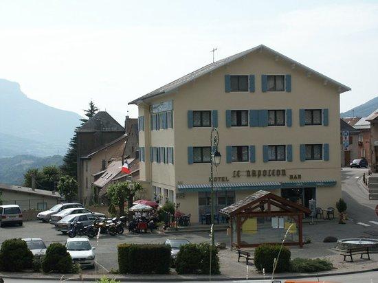 Corps, Fransa: hotel Napoléon