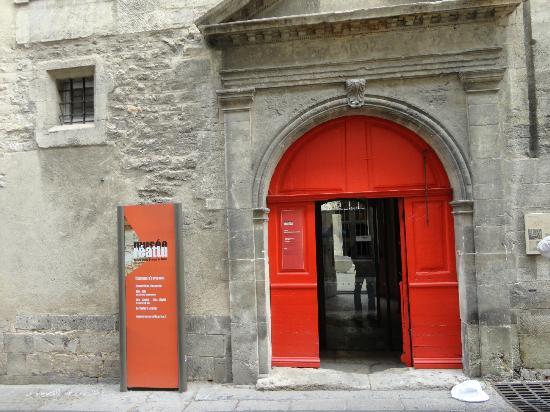 Musee Reattu: L'entrée du musée.