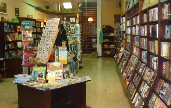 7th Street Books: 7th Street has lots of guides and fiction novels, english and some spanish