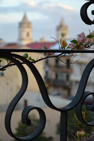 Casa Antigua: view from balcony